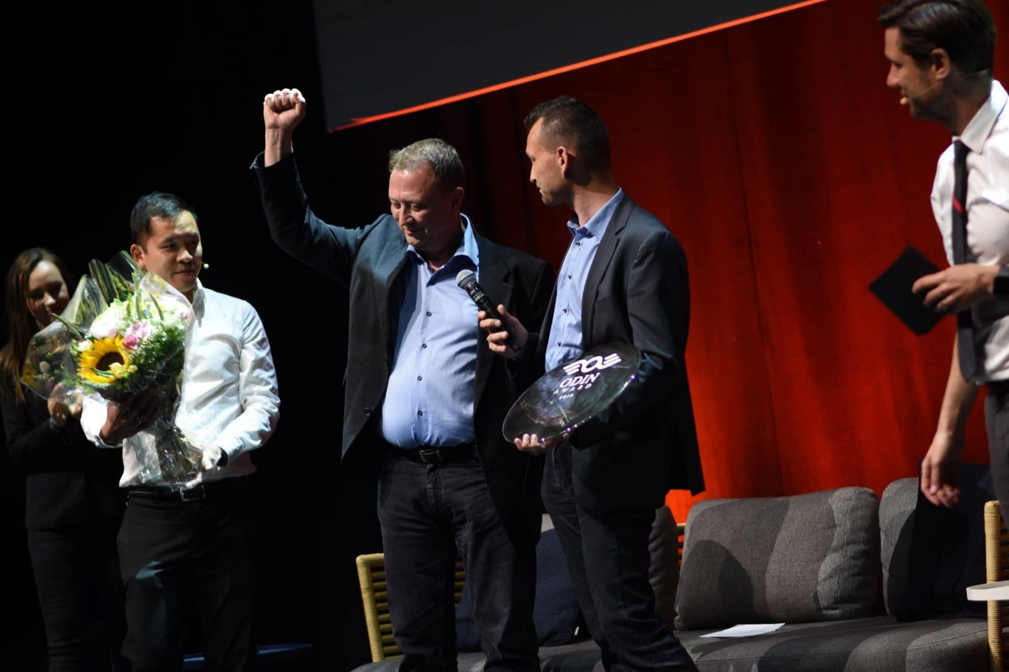 Nordic Robot vandt Odin Award 2019, der blev afholdt for anden gang
