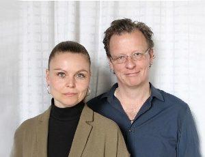 Esben Kjær og Lotte Blicher Mørk foredrag