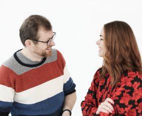 Sebastian Dorset og Lise Vestergaard