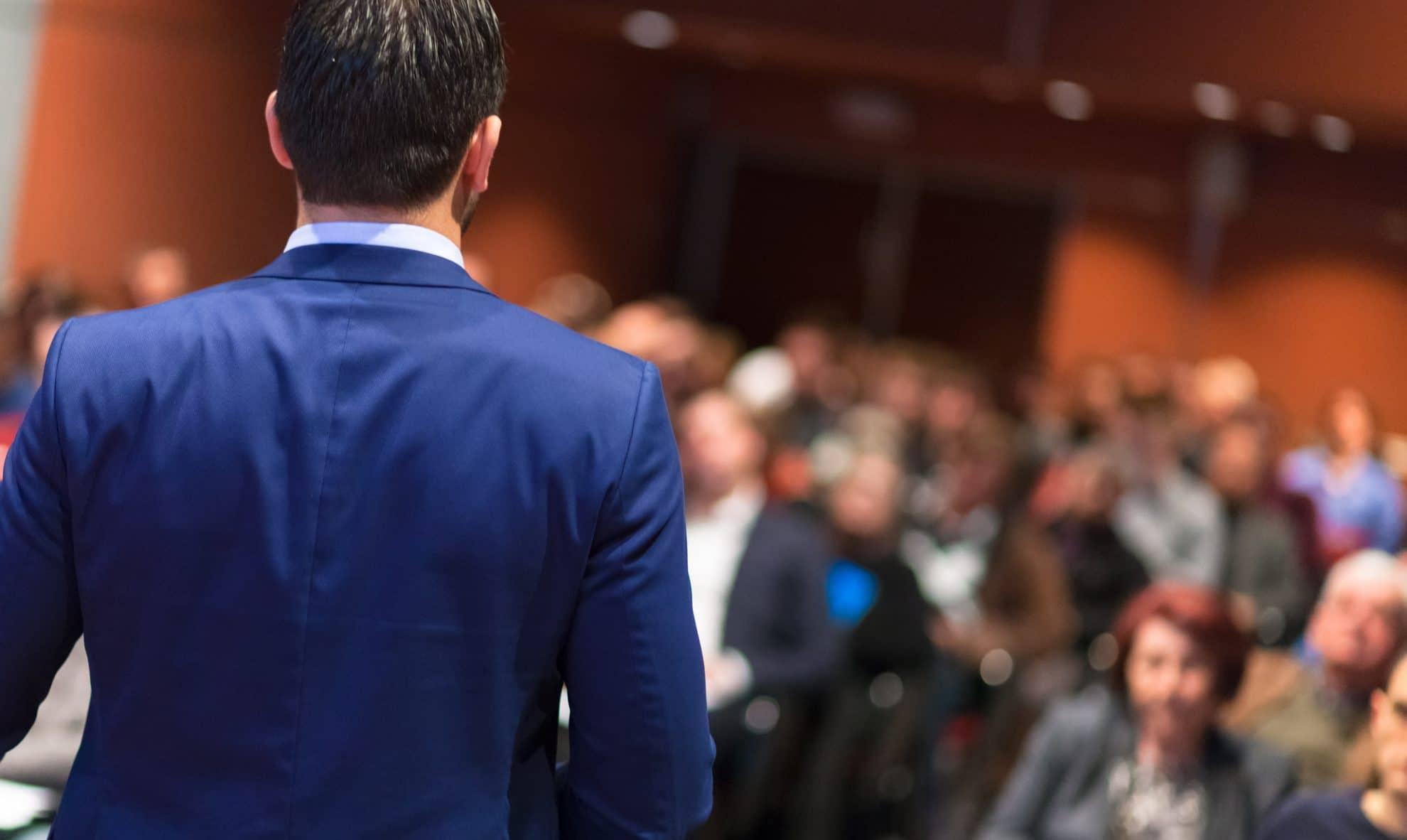 Foredragsholdere der kan tale engelsk